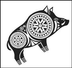 Schwein Tattoo
